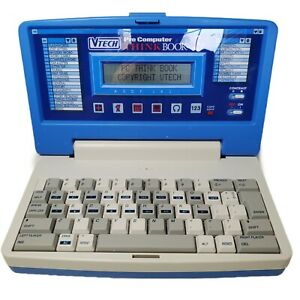 VTECH Pre Computer Think Book Vintage Learning Computer tested great condition