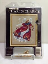 New listing 🔴⚪�🔵 Dimensions #72303 Guiding Angel Cross Stitch Charts & Charms Laine Gordon