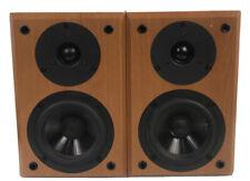 Yamaha NX-E300 Bookshelf Wood Grain Speakers Very Nice Sound