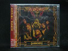 ENFORCER Diamonds + 1 JAPAN CD Alpha Tiger Skull Fist White Wizzard Wolf