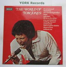 TOM JONES - The World Of Tom Jones - Excellent Condition LP Record Decca SPA 454
