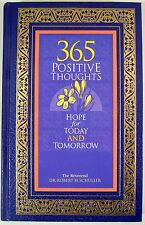 Signed Robert Schuller 365 Positive Thoughts Daily Messages Journal Motivational