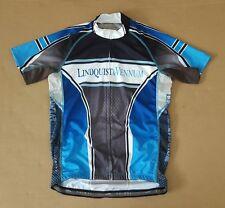 EUC PRIMAL Men's Road Cycling Jersey Sz. Large L Color Blue White Black