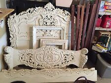 White Headboard Bed Set