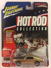Johnny Lightning Muscle Hot Rod 69 1969  Ford Mustang Mach 1 Gold Diecast 1/64