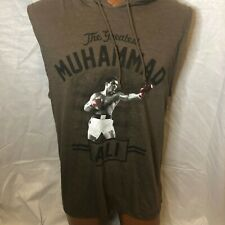 Muhammad Ali Sport Muscle Hoodie Tank Top Sleeveless T-Shirt Tee