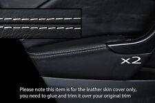 Blanco Stich 2x Frontal Puerta Apoyabrazos tapa se ajusta Opel Opel Astra J Mk6 9-15 Philippines