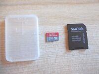 SanDisk - Ultra PLUS 64GB microSDXC UHS-I Memory Card - Red/Gray