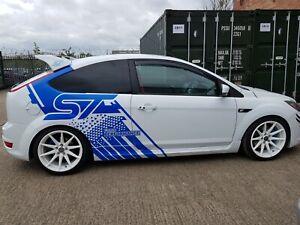 Ford Performance Focus Custom ST Design Car Sport Sticker Professional Decal