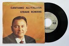 """79390 45 giri - 7"""" - Giorgio Consolini - Cantiamo all'italiana; Strade romane"""