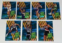 1994-95 Skybox NBA Hoops Power Predator NBA Basketball Cards Lot of 7 All Stars