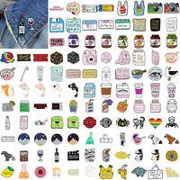 112type Cute Cartoon Enamel Lapel Collar Pin Corsage Brooch Fashion Jewelry Gift