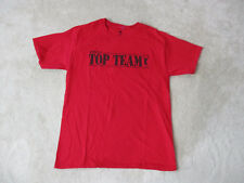 American Top Team Shirt Adult Medium Red Black Ju Jitsu Mixed Martial Arts MMA