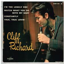 """Cliff RICHARD    I'm the lonely one     7"""" 45t EP exc état"""