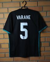 Real Madrid Varane Jersey 2017 2018 Away M Shirt Adidas Football Soccer Trikot