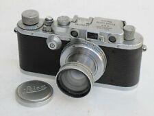 Leica IIIa chrome camera body with 5cm f:2 Summer lens one of 100 in 1937 LQQK