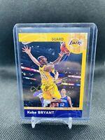 2013-14 Panini NBA Kobe Bryant China Hoops #8 SSP Rare LA Lakers Gold Foil Auto