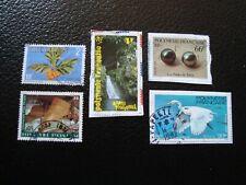 Polinesia Francaise - 5 Francobolli Obliterati (A39)