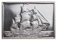 Historic Ships Sterling Silver Art Bar - .925 - 2.9 Grams - *427