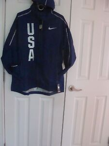 Men's Nike Hypershield Olympic Team USA Jacket 806908 455 Size XL