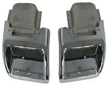 PARAURTI POSTERIORE SCARICHI Range Rover L322 Esterno Design Pack Chrome dallo scarico finiture