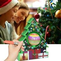 Magic Christmas Tree Crystal Growing Kit Perfect Office Home Party Decor DIY