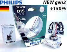 Philips Xenon D1S Xtreme Vision gen2 +150% more light 85415XV2C1 PK32d-2 X1 Bulb