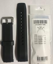 CASIO Original Watch Band EQS-500C-1  EQW-M600C  ERA-200B   Black  Strap  EQS500