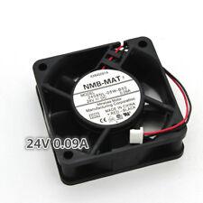 NMB 2408NL-05W-B50 6020 6cm DC24V 0.09A 2-pin inverter cooling fan