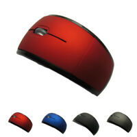 Wireless Mouse 2.4G Computer Mouse Foldable Folding Optical  Mice USB Receivers