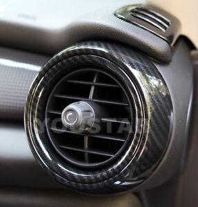 AU STOCK 8X CARBON Effect Dash Air Vent Cover Trims for MINI Cooper F55 F56 F57
