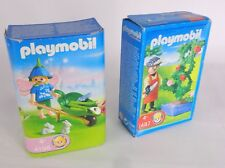 Flor de hadas Playmobil juguete Paquete de 4196 y 4487 de jardín de rosas