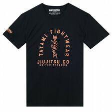 Tatami Supply Co T-Shirt Black Tee BJJ Casual No-Gi Grappling Workout Jiu Jitsu