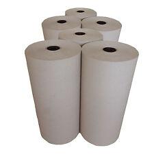 6 x 10 kg Rollen Schrenzpapier Packpapier Knüllpapier   100g/m²   50 cm breit