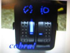 VW Golf 4 IV Bora LWR Leuchtweitenregulierung Schalter Blau Rot Weiß LED