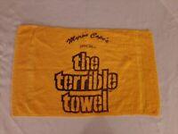 VINTAGE Pittsburgh STEELERS ORIGINAL Official TERRIBLE TOWEL
