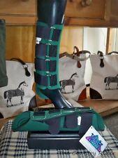 NWT TOKLAT ORIGINALS NEOPRENE Horse Splint Boots GREEN Sz LARGE