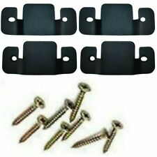 4 x Metal Corner Sofa/Divan Bed Interlocking Connecting Clips Brackets & Screws