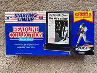 1992 Ken Griffey Jr Seattle Mariners Starting Lineup Headline Figure Hasbro
