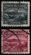 Ecuador 1934 Mi 315, 318 Chimborazo