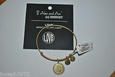 Alex and Ani Expandable + Energy Bracelet Russian Gold RETIRED Love NWT RARE
