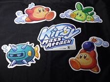 KIRBY MASS ATTACK Nintendo Wii STORE PROMO Window/Wall DISPLAY