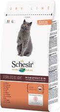 schesir sterilised crocchette gatto adulto 10 kg al pollo gatti sterilizzati