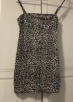 Motel Rocks Leopard Print Dress Small