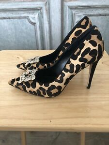leopard print ponyskin shoes products