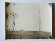 Original Photo WWI Pre WWII Camp May New Jersey Navy Radio Communication Station