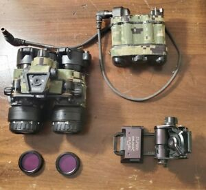 BNVD 1431 Gen 3 Duel Tube Night Vision With PVS 31 Battery Pack And Wlicox L4...