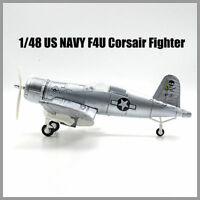 1PCS Plastic Aircraft Airplane Model Airplane 1/48 US NAVY F4U Corsair Fighter