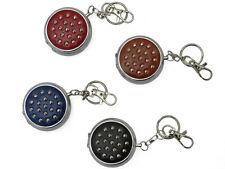 Luxus Taschenaschenbecher Silverdrops mit Schlüsselanhänger