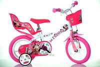 12 Zoll Kinderfahrrad Minnie Maus Original Lizenz Kinderrad Fahrrad Mouse